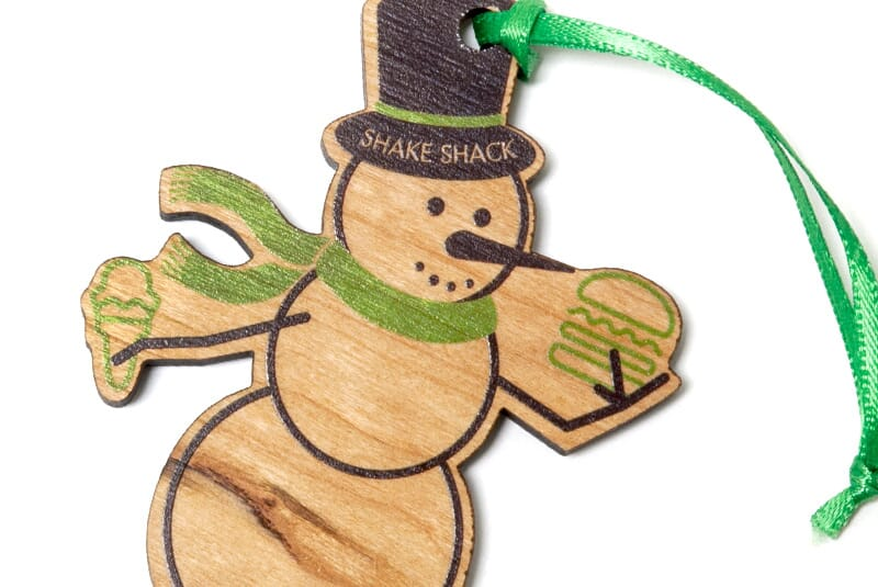 Image for Holiday Snowman Ornament