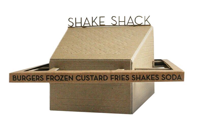 Shake Shack Model Kit building.