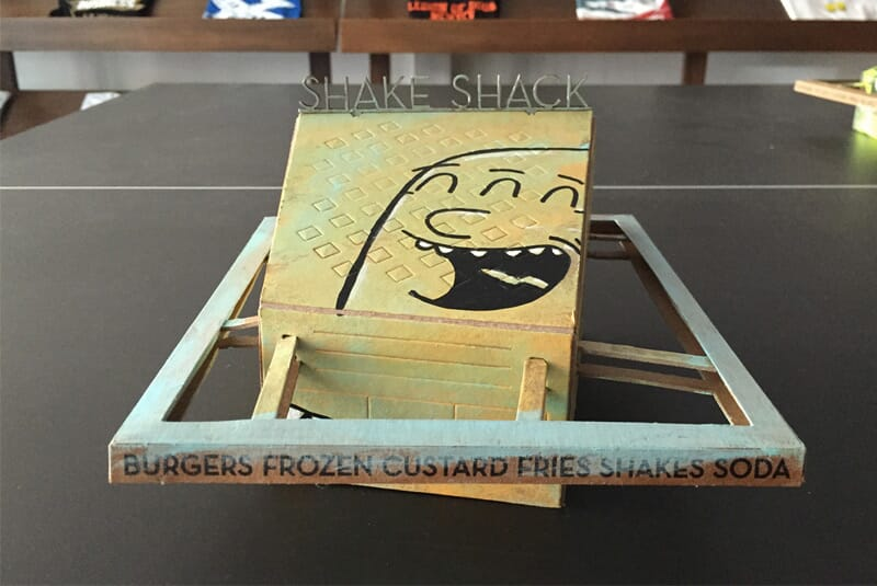 Image of the I Really Like The Fries Shack.
