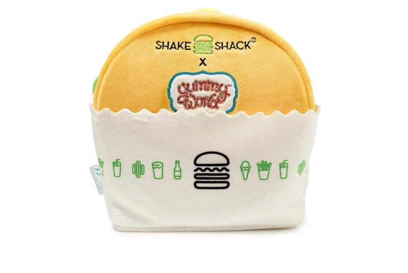 Image of back side of burger.