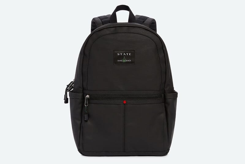 Image of front of x STATE Backpack.