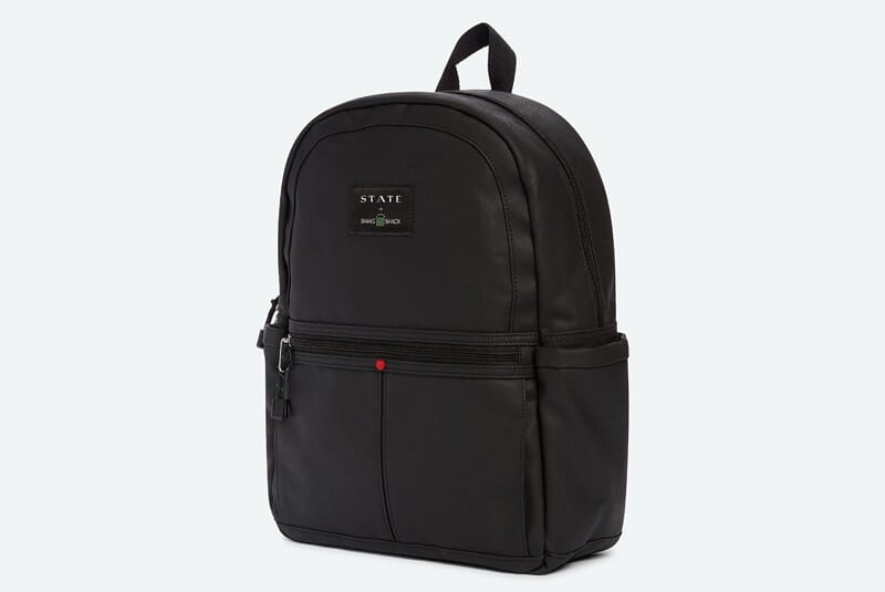 Image of side of x STATE Backpack.