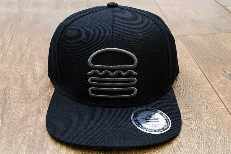 Far front shot of Snapback