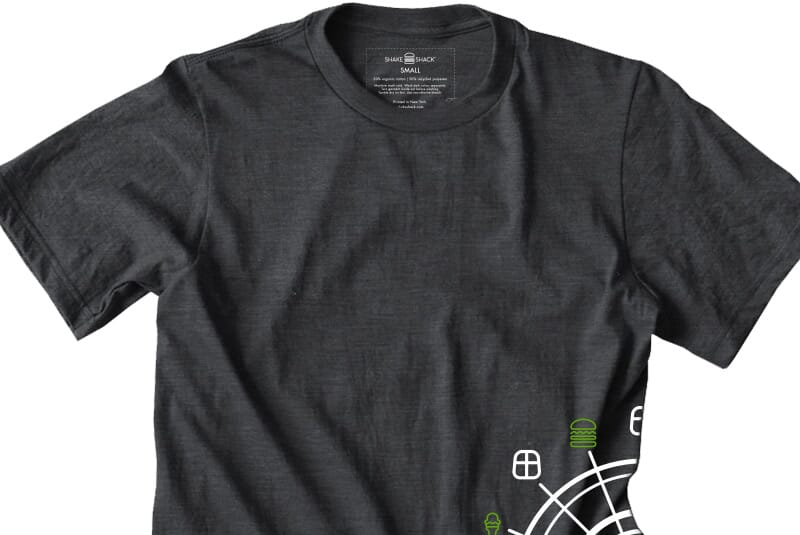 Detailed image of the I-Drive tee.